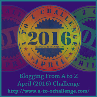 Sign up for the A to Z April Blogging Challenge