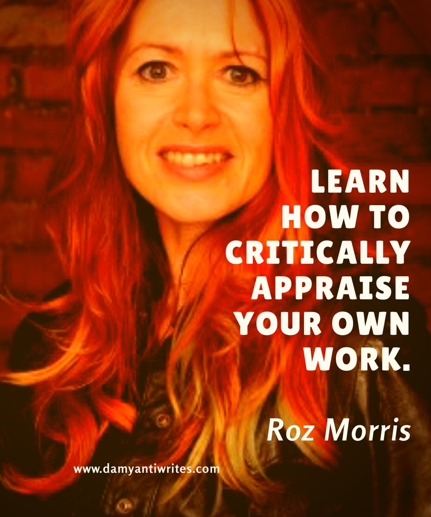 Roz Morris Writing advice