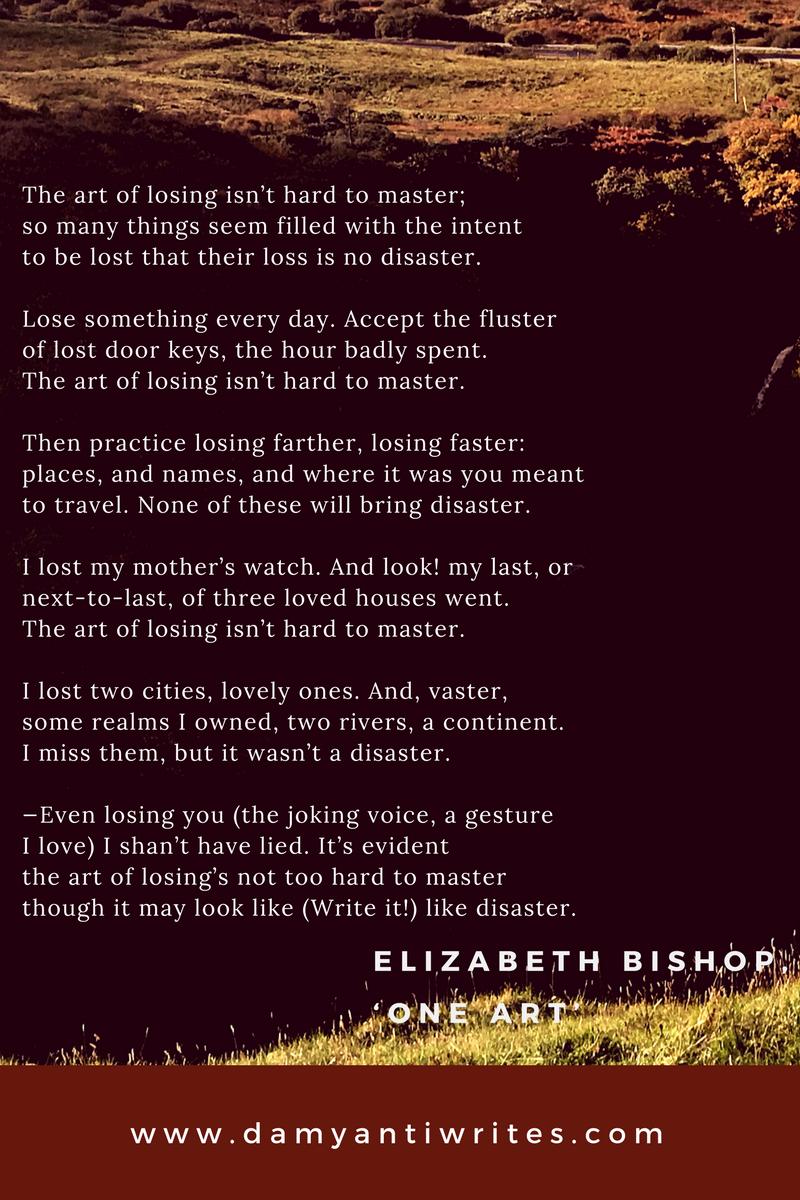 Elizabeth Bishop poem