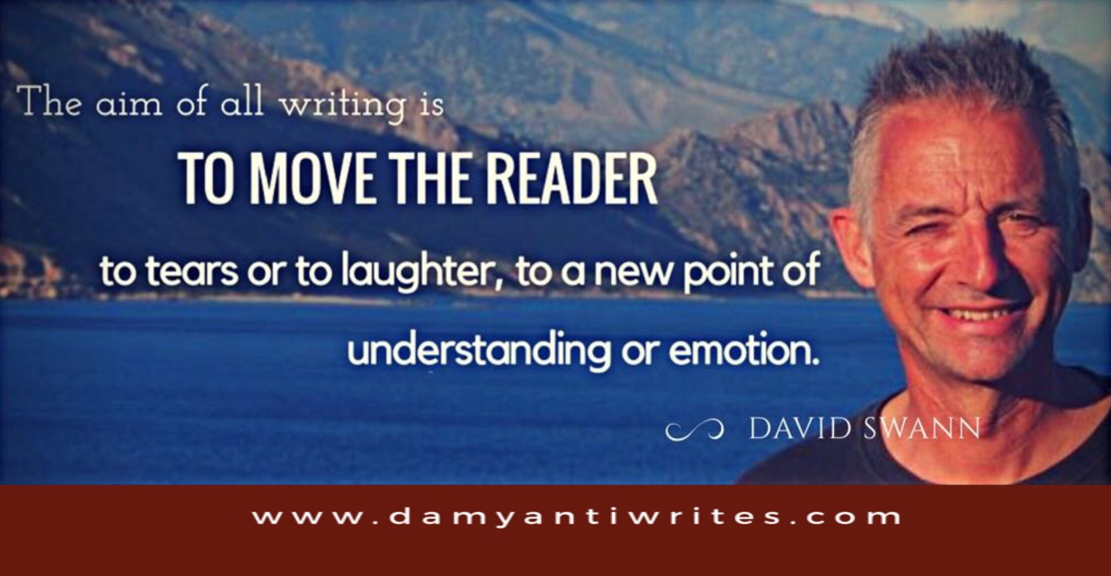 David Swann's Writing advice